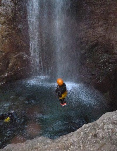 canyoning-RIO NERO