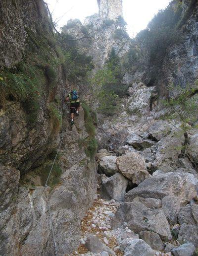 ferrata in Trentino